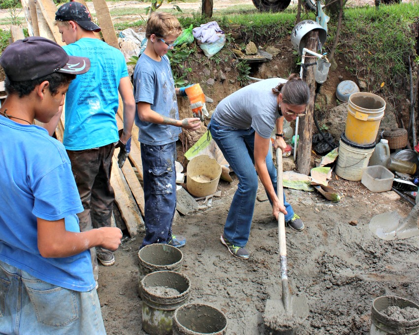 Honduras Cement Floors Mission