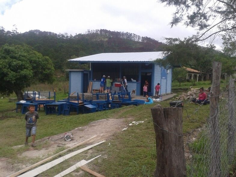 Electricity, paint, roof, bathrooms-all done!